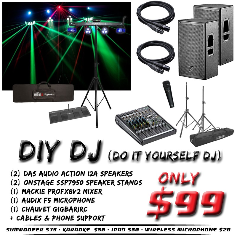 Diy dj do it yourself dj dj music karaoke fargo nd diy dj weddings solutioingenieria Images